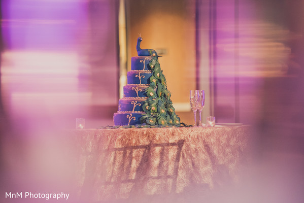 Marvelous indian wedding cake design