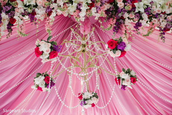 indian wedding ceremony,floral and decor,mandap