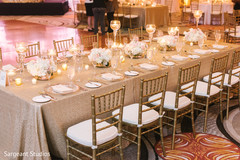 indian fusion wedding reception,floral and decor