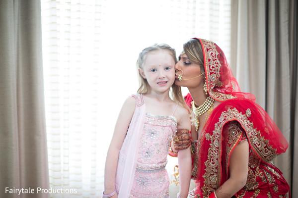 Heart melting Indian bride capture.