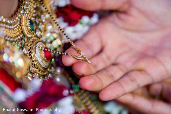 Lovely indian bride's necklace