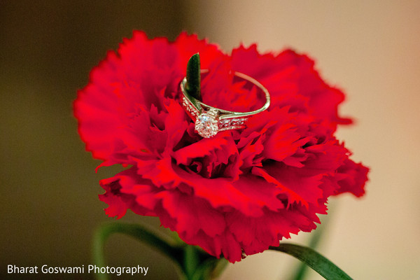 Indian engagement ring