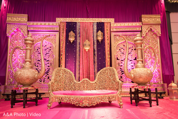Indian wedding sangeet decor