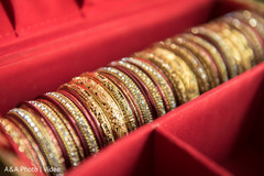 Dazzling indian bride bangles