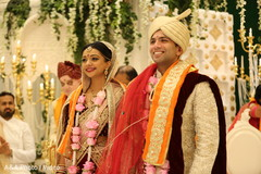 Gorgeous indian newlyweds