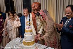 cake cutting,wedding cake,indian wedding