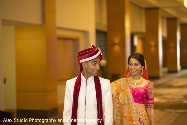 indian bride and groom,indian wedding photography,first look