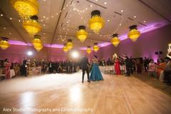 indian wedding reception,dj,indian bride and groom
