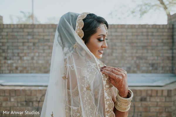 Utterly romantic fine art bridal portrait.