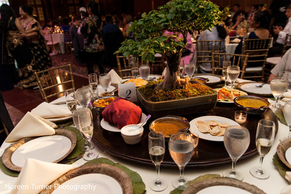 indian wedding reception,planning and design,floral and decor,floral centerpiece