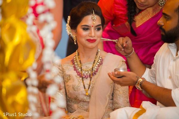 Sindhoor wedding ritual