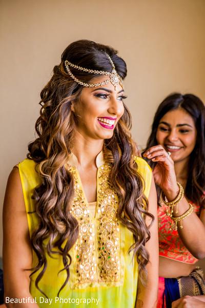 Gorgeous indian bride pre-wedding style.
