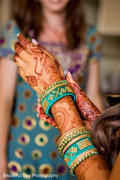 indian bride,pre-wedding fashion,bridal bangles,bridal mehndi