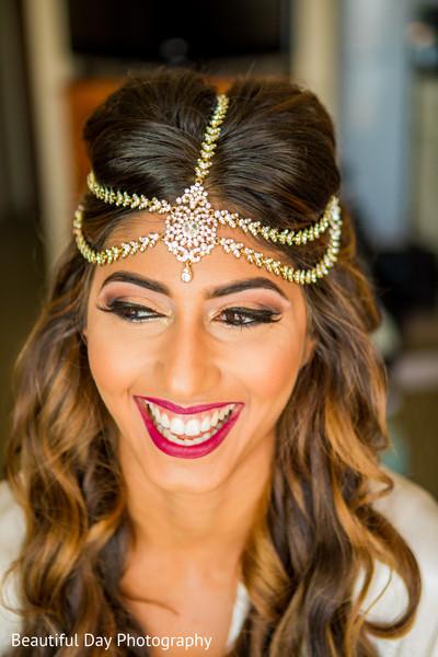 Charming Indian bridal portrait.