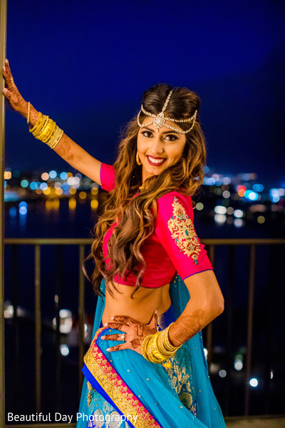 Flawless Indian bridal style.
