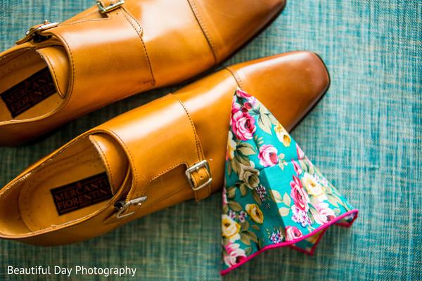 Indian groom footwear.