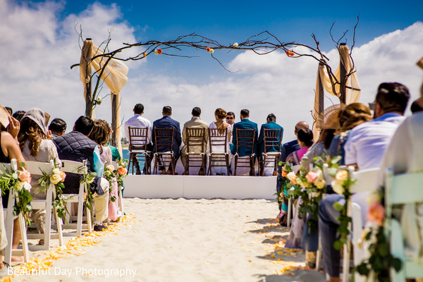 Inspiring Indian wedding by the sea.