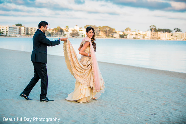 indian bride and groom,reception fashion,indian wedding photography