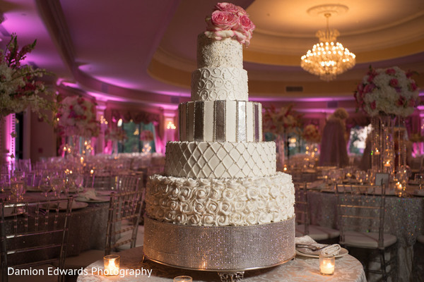 floral and decor,indian wedding cake