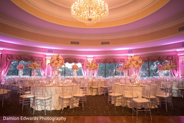 floral and decor,indian wedding reception