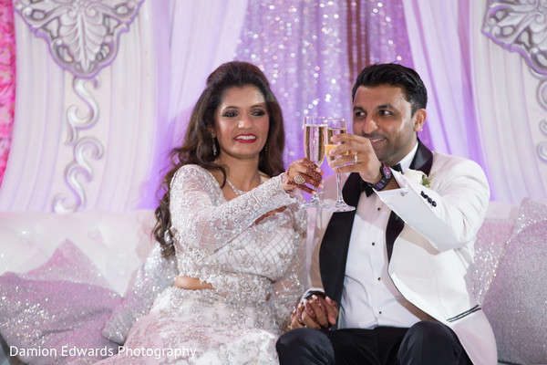 indian wedding,indian couple,reception fashion