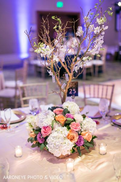 Creative floral centerpiece