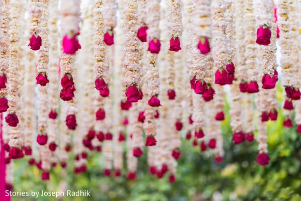 Exquisite Indian Wedding Floral Decor Photo 138772
