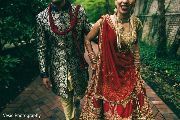 Glamorous indian wedding fashion