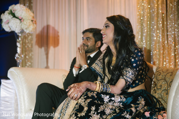 suit,indian couple,indian wedding reception