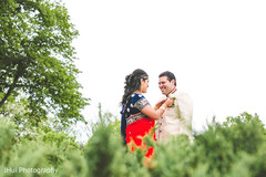 Natural inspired Indian bride and groom photo shoot.