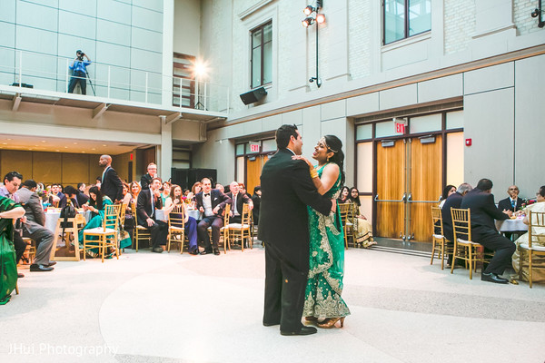 Traditional first dance as husband and wife.