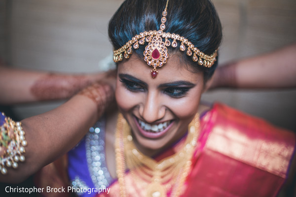 tikka,indian bride fashion