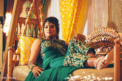 Fabulous Indian bride pre-wedding photo.