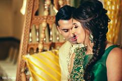 indian bride and groom,mehndi night,pre-wedding photography