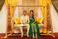 pre-wedding celebration,mehndi,indian bride and groom