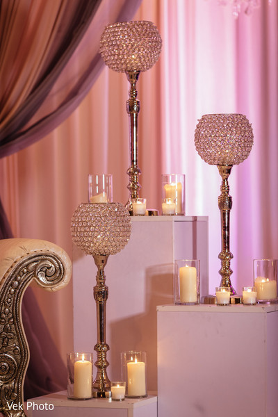 indian wedding reception,floral and decor,wedding stage