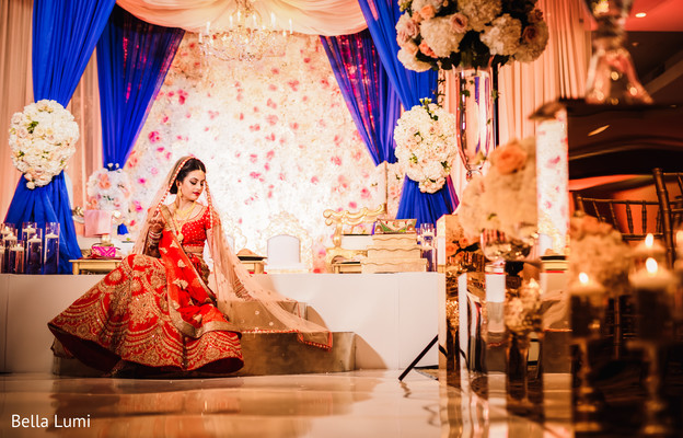 indian bride,floral and decor,indian wedding photography