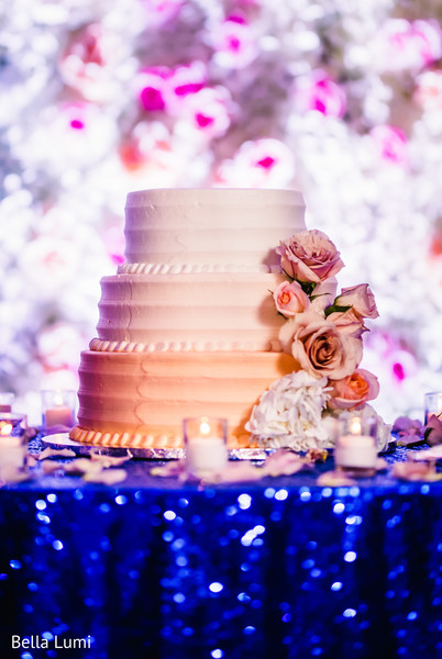 Dreamy Peach Indian Wedding Cake Design Photo 139782