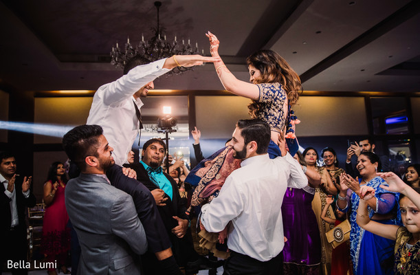 indian bride and groom,dj and entertainment,indian wedding reception
