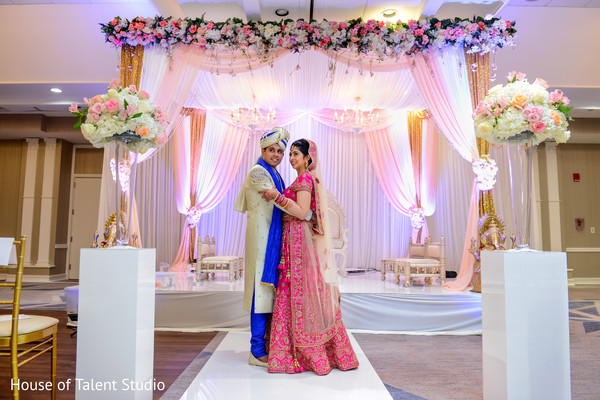 Fairy tale indian couple's photo shoot