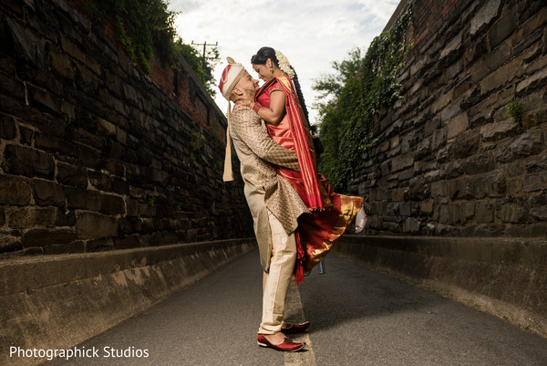 Indian bride and groom treasured moments in Alexandria, VA Fusion Indian Wedding by Photographick Studios