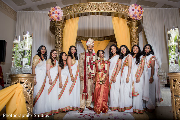 Indian wedding photo session in Alexandria, VA Fusion Indian Wedding by Photographick Studios