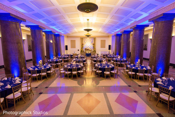 See this dream indian wedding reception decor. in Alexandria, VA Fusion Indian Wedding by Photographick Studios