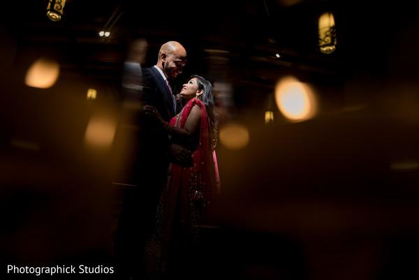Ravishing indian wedding reception style in Alexandria, VA Fusion Indian Wedding by Photographick Studios