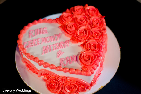 Marvelous indian engagement cake