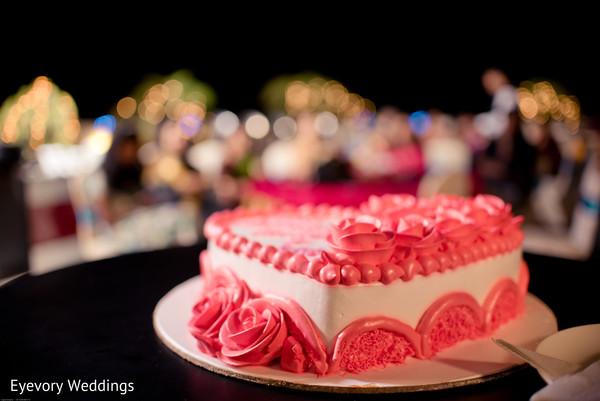 Wonderful indian engagement cake