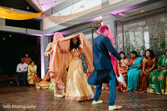 Guest dancing during pre wedding celebrations