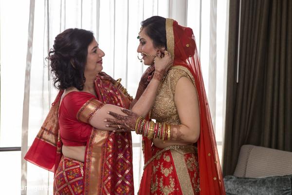 indian bride,getting ready,indian bride fashion