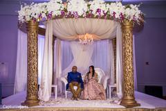 Indian wedding reception speech moment