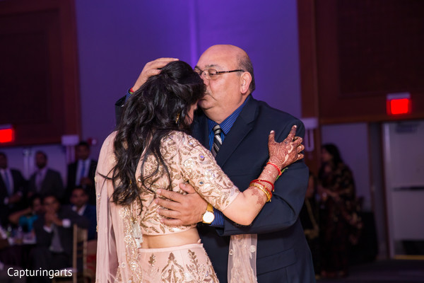 Sweet moment between maharani and her father